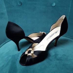 Brian Atwood Satin Heels